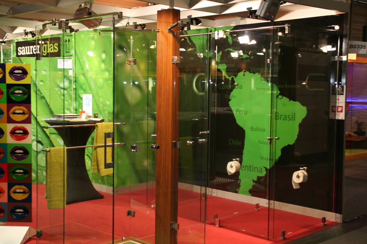 Saurer glas messestand wohnen interieur 2013 messe wien for Interieur messe wien